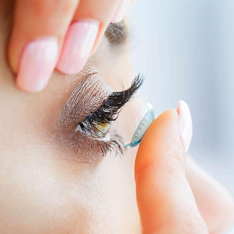 Wenn die Kontaktlinsen brennen oder kratzen - TEARS AGAIN