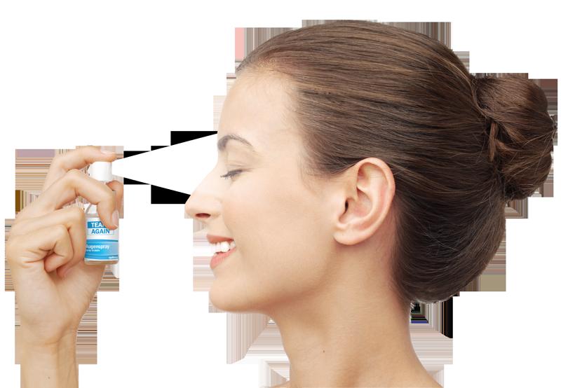 TearsAgain-Augenspray-Frau